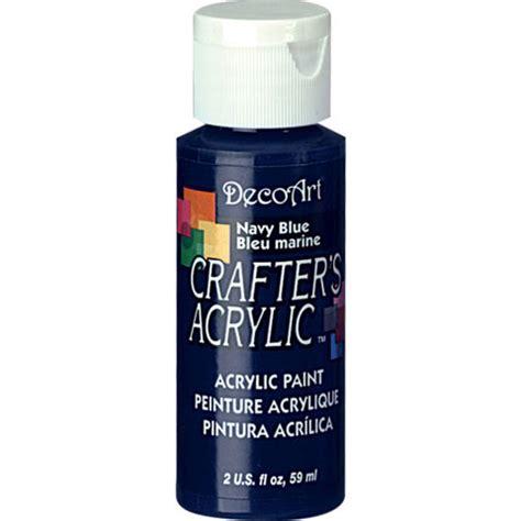 acrylic paint keep navy blue decoart 174 crafter s acrylic paint basic navy