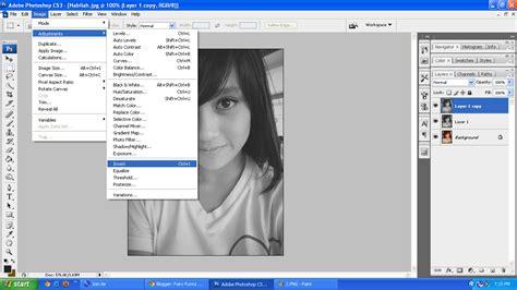 cara edit foto sketsa di photoshop cara membuat efek sketsa foto dengan photoshop teknik