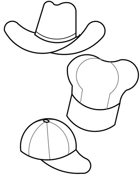 fedora hat coloring page pilgrim hat template articles with printable top templates