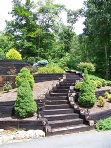 railroad ties landscaping 1000 ideas about railroad ties landscaping on