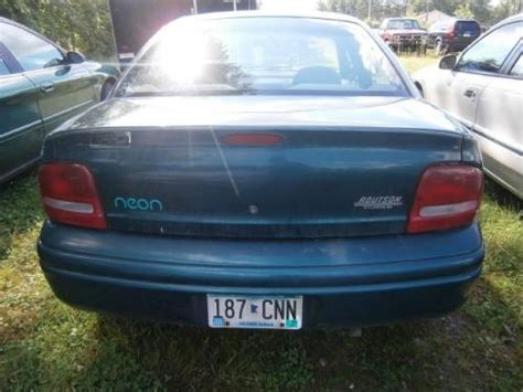 96 Dodge Neon Specs Cheap Car For 500 Minneapolis Mn Dodge Neon Highline 96