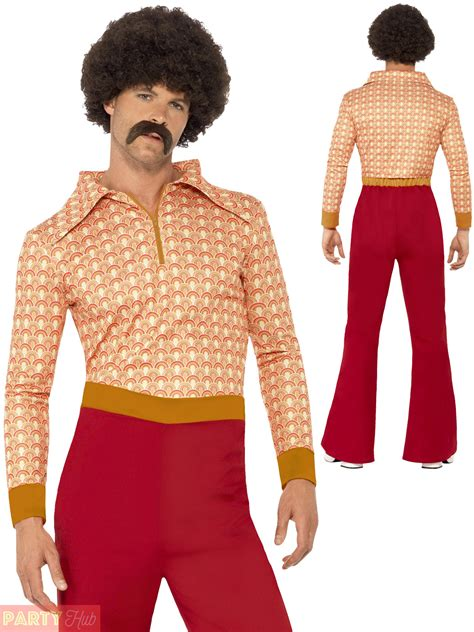 photos from the 70s mens ladies 70s costume authentic chic guy retro flares