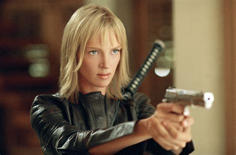 Uma Thurmans Hair In Kill Bill | uma thurman in kill bill guns lot