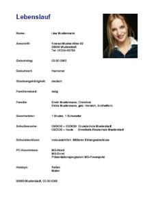 Lebenslauf Muster Arbeitsstelle Lebenslauf Coaching Club