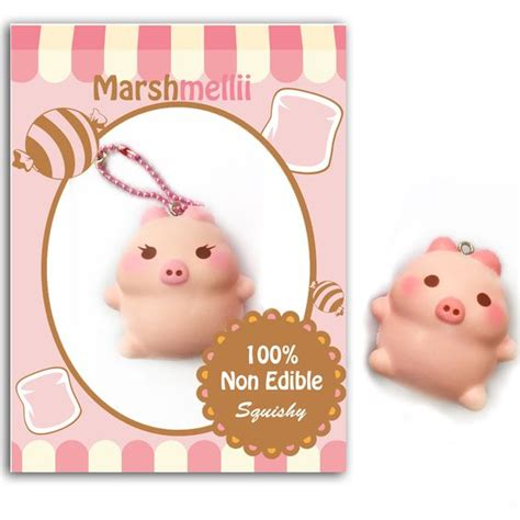 Squishy Donat Hamster Limited marshmelli piggie pre order squishy marshmallow pig