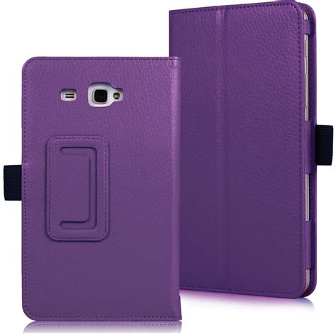 Casing Tablet 7 Inci slim leather cover samsung galaxy tab a 7 0 7 inch tablet sm t280 sm t285 ebay