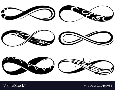 28 Symbol Of Infinity Stock Vector Image 49496739