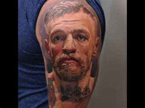 conor mcgregor new tattoo conor mcgregor by dmitriysamohin