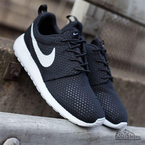 Nike Rhoserun Black White nike rosherun br black white footshop
