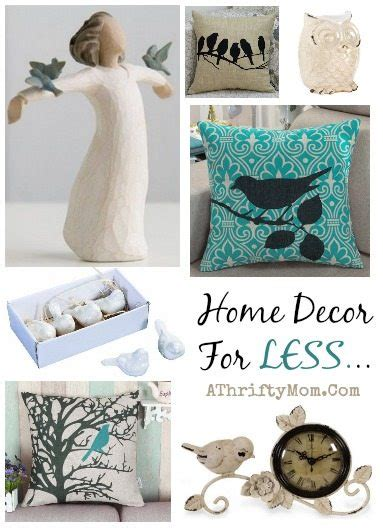 bird themed home decor ᐂhome decor ideas for for less pillows clock willow