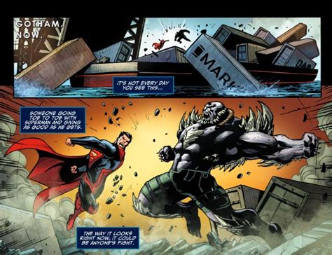 injustice gods among us year five vol 3 bane joins superman s regime in injustice year 5 chapter 3