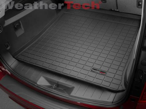 weathertech cargo liner trunk mat for chevy equinox gmc terrain black ebay
