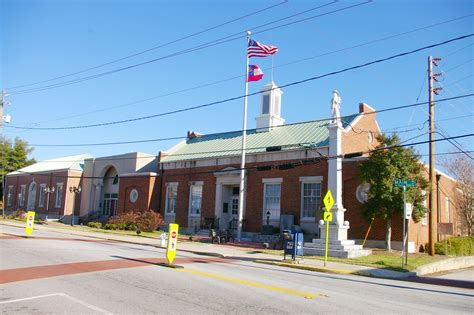 Post Office Conyers Ga by Rockdale County Us Courthouses