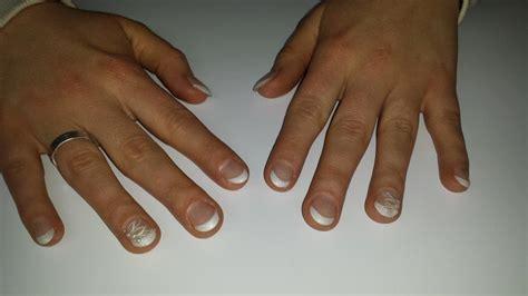Gelnagels Voorbeelden Nail by Bruidsnagels Foto S Voorbeelden Bruiloft Nagels