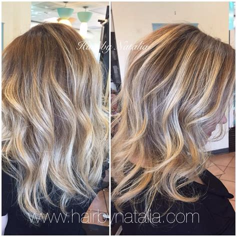colore denver color correction with balayage and foilyage with olapex