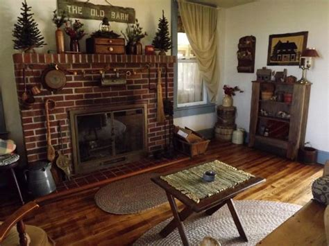 Primitive Decor Living Room by Living Room Primitive Decor New Home