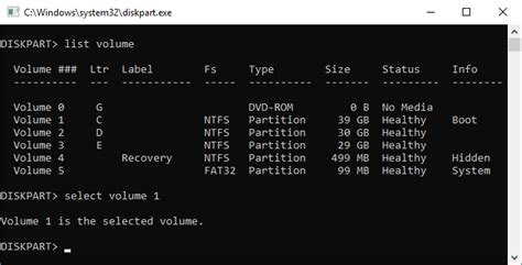 diskpart format please select a volume how to extend c drive using diskpart cmd in windows 10