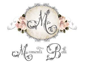 design logo shabby chic logo design for momenti belli fancy girl designs