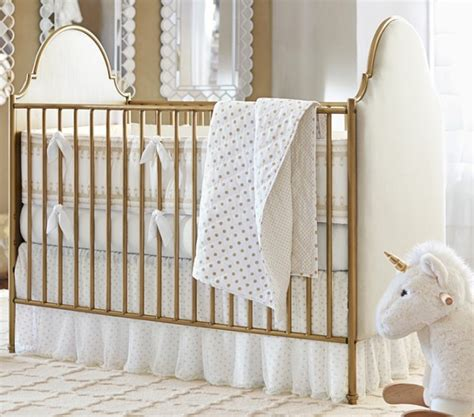 Pottery Barn Baby Cribs Gold Cribs Project Nursery