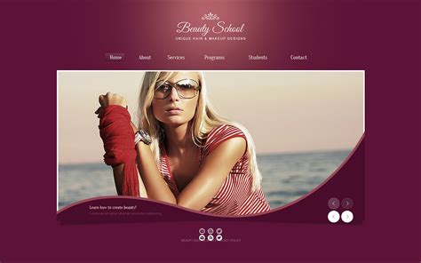 template joomla beauty salon beauty salon website template 45839