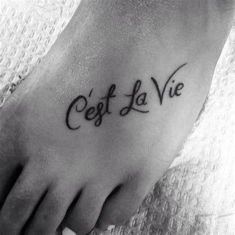 c est la vie tattoo designs c est la vie