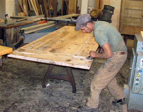 owls head mountain rustic furniture keene ny wood table top