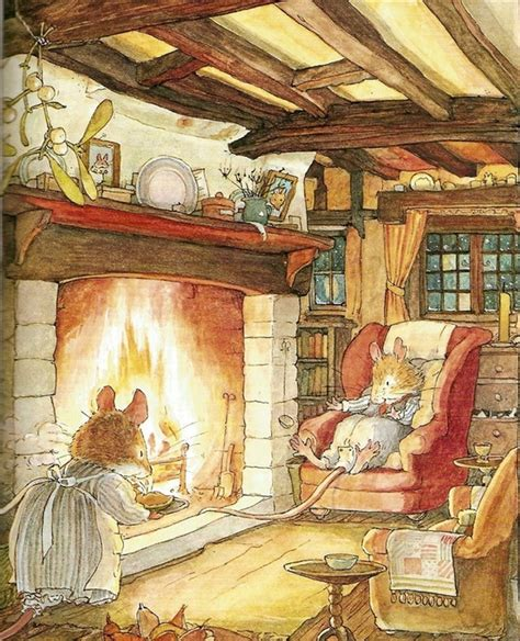 winter story brambly hedge books prent poster on brambly hedge beatrix potter