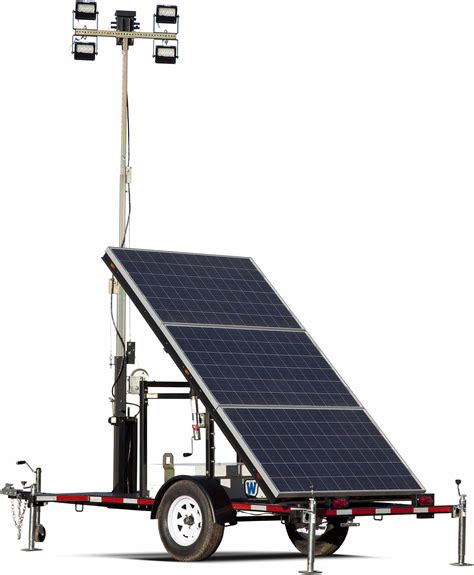 Solar Light Towers Light Towers National Trench Safety
