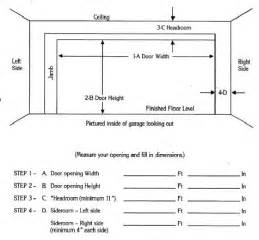 Garage Door Width 28 Garage Door Size Which Size Two Car Garage Door