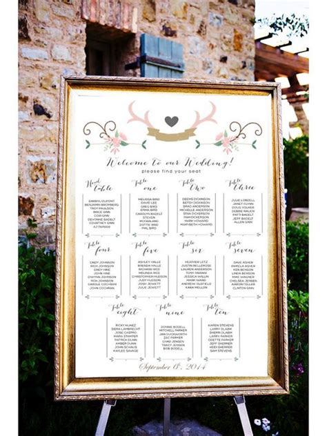 wedding seating cards ideas wedding table assignments board table listings wedding