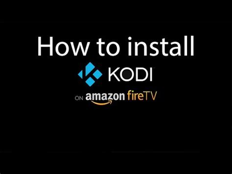 how to install kodi on firestick easy step by step with screenshots to set up kodi on your tv stick in 10 minutes books how to get tutorial how to install kodi on firestick ark