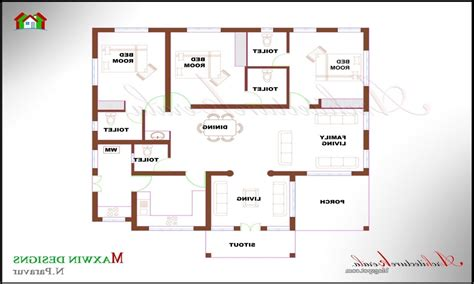 single floor 4 bedroom house plans kerala awesome home