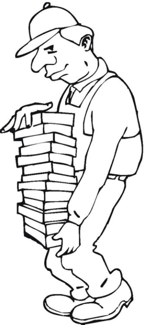 Construction Worker Coloring Page Free Construction Coloring Pages by Construction Worker Coloring Page
