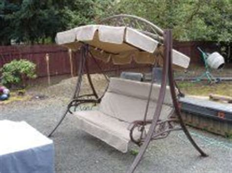 costco swing cushion replacement patio swings on pinterest