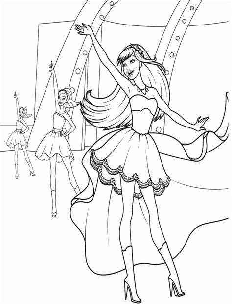 chicken dance coloring page barbie sketches coloring home