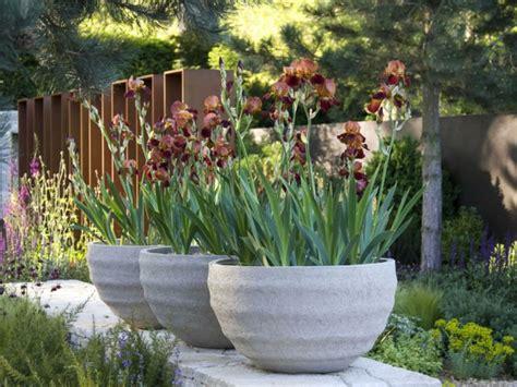 decoracion jardin 1001 ideas de decoraci 243 n de jard 237 n con maceteros grandes