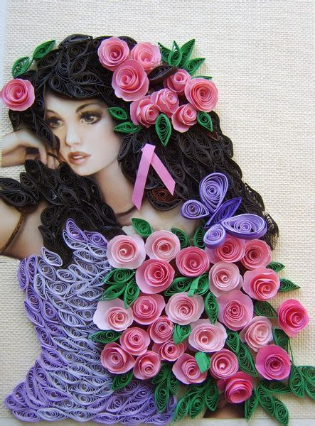 Paper Craft Quilling - quilling characters in the wonderful paper