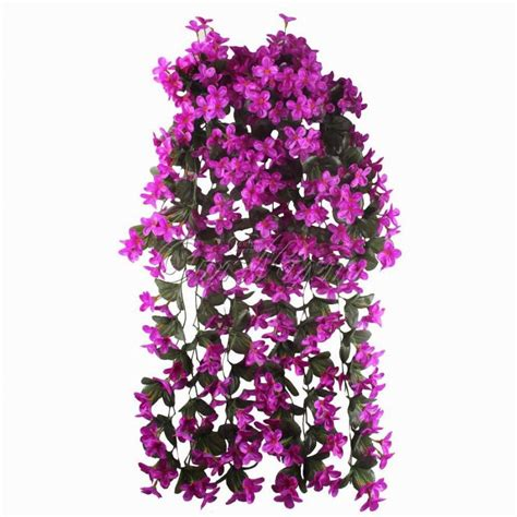 10pcs romantic artificial flowers hanging orchid fake