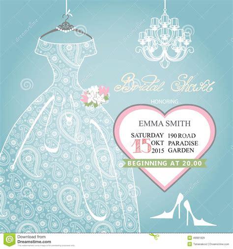 south bridal shower invitations bridal shower invitation wedding lace dress on stock vector illustration of invitation modern