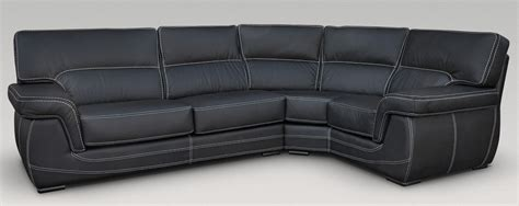 black leather corner settee babylon corner group italian leather sofa black jpg