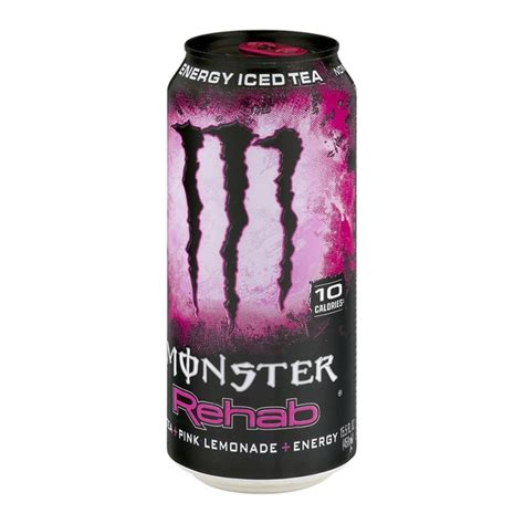 cloud 9 energy drink ingredients rehab energy iced tea pink lemonade energy
