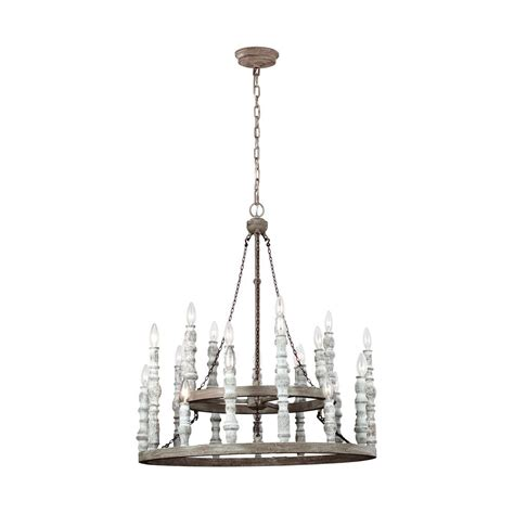 Distressed White Chandelier Feiss Norridge 24 Light Distressed White Chandelier F3143 24dfb Dwh The Home Depot