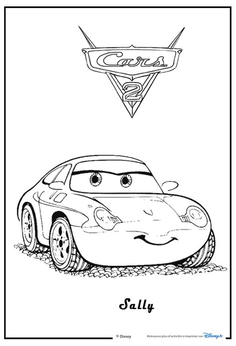 cars sally coloring page free coloring pages of sally from cars