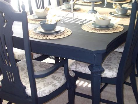 chalk paint dining room table loving dining room table and chairs completed finally