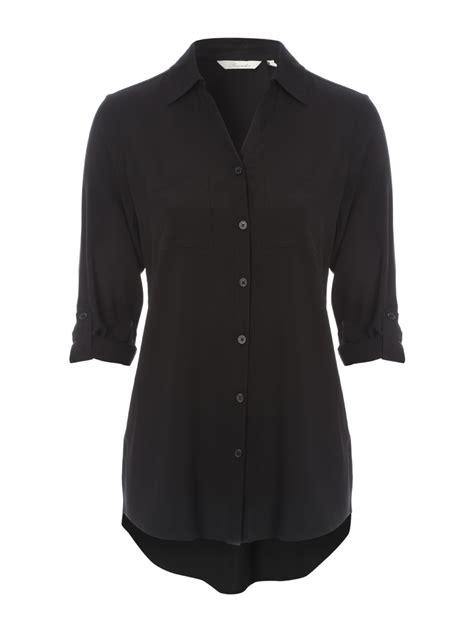 Black Blouse plain black blouse clothing