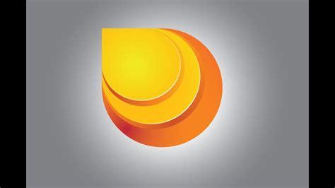 illustrator tutorial    sleek gradient logo