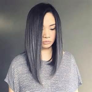 black grey hair 20 best silver gray hair long hairstyles 2016 2017