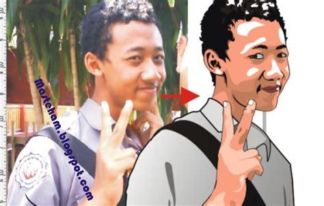 tutorial membuat foto jadi vektor tutorial membuat gambar vektor wajah menjadi kartun