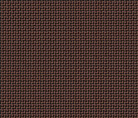 Brown Houndstooth Pattern | houndstooth in brown and black fabric audzipan spoonflower