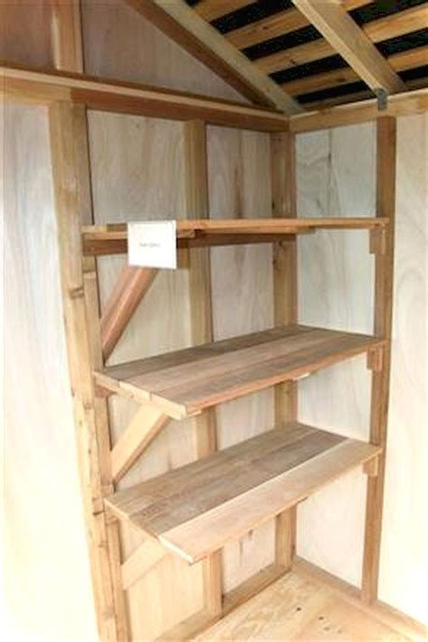 lovelyving architecture  design ideas shed shelving